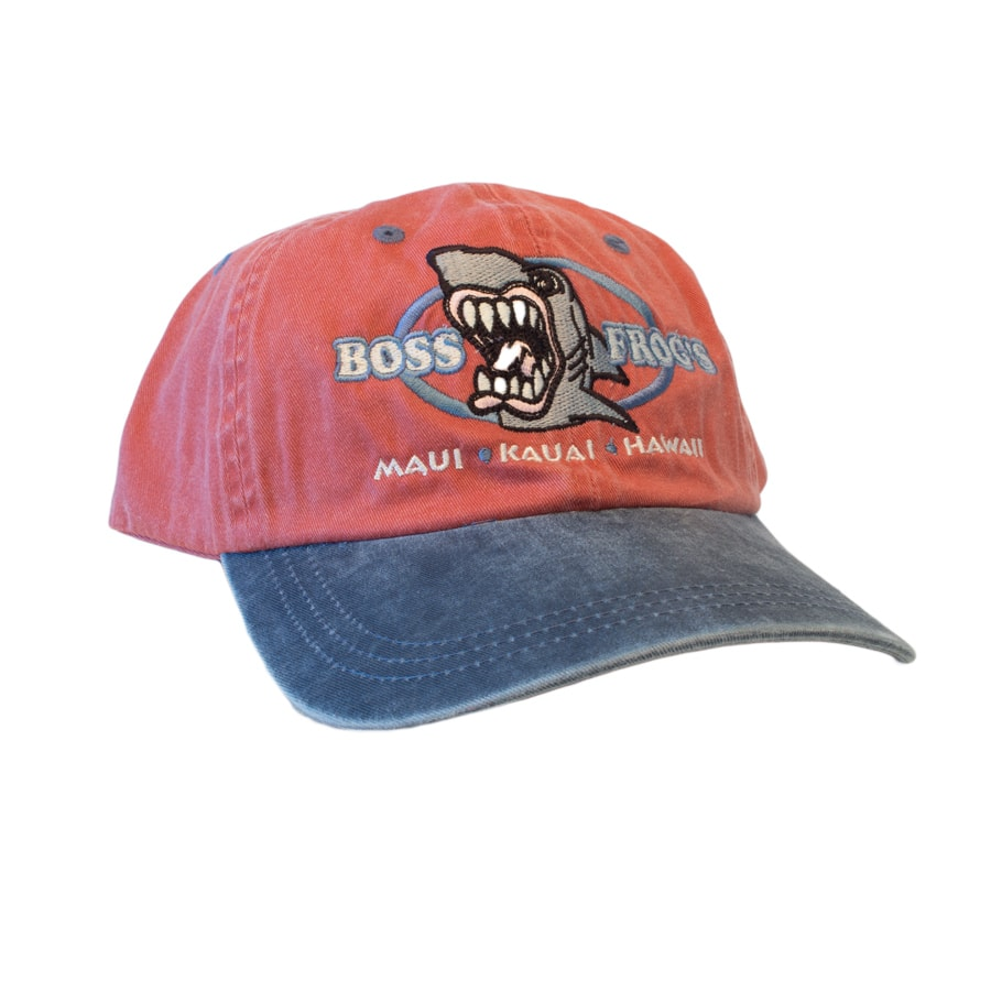 Logo Hat Red With Navy Bill