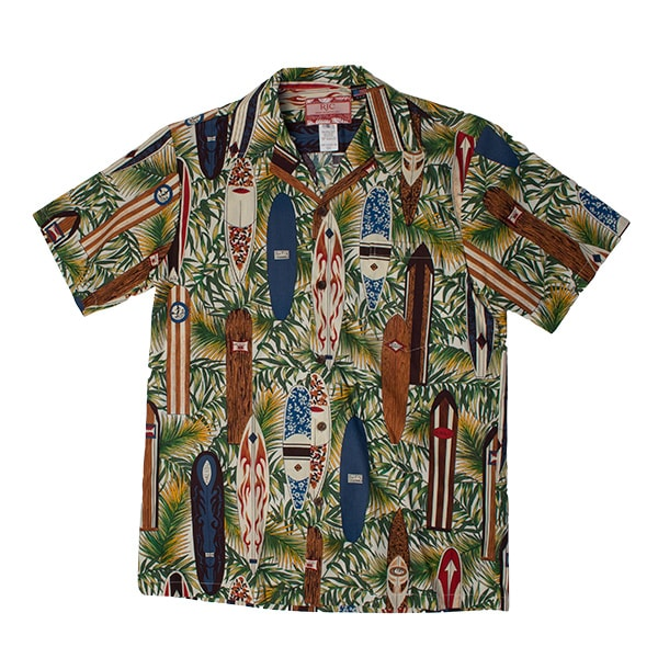 Aloha Shirt Surf Boards