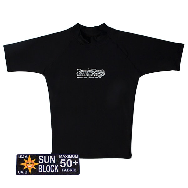 Rash Guard Black Short Sleeve