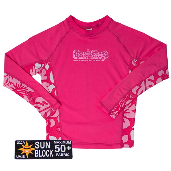 Rash Guard Pink Long Sleeve