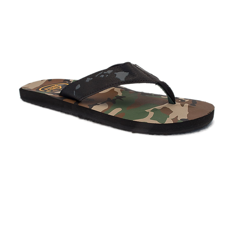 Sanuk Sandle Camo Hawaiian Islands
