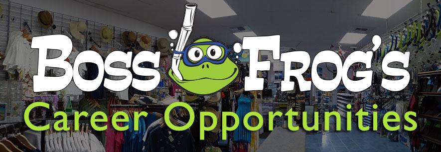 boss frog's careers