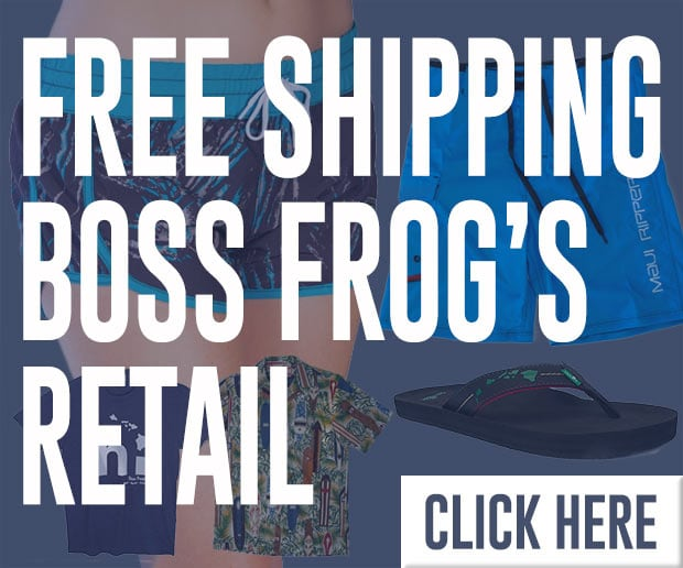 Boss Frog's Logo Wear and Retail Shop
