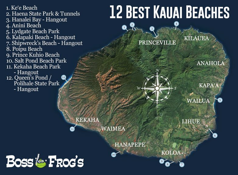 12 BEST KAUAI BEACHES