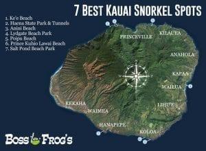 7 Best Kauai Snorkel Spots