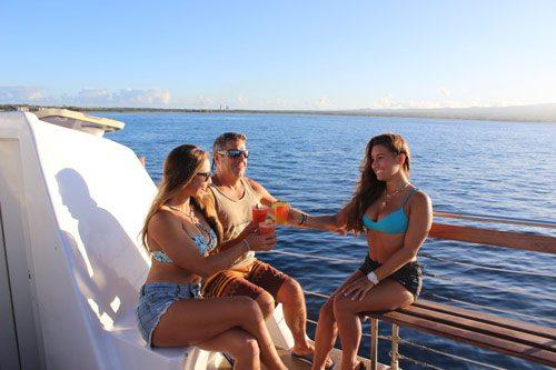 Relax enjoy the cruise and a Mai Tai.