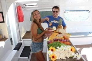 Delicious Food Aboard The Malolo Snorkel Cruise