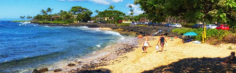 Prince Kuhio Lawai Beach Kauai