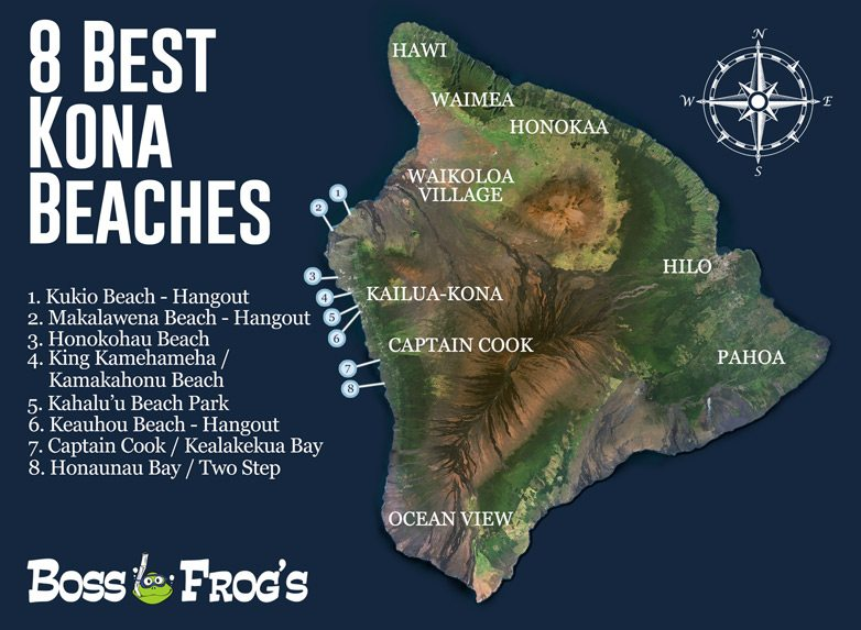 8 Best Kona Beaches | Big Island