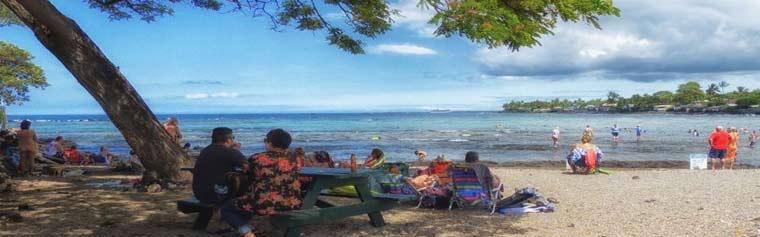 Kahaluu Beach Park Kona
