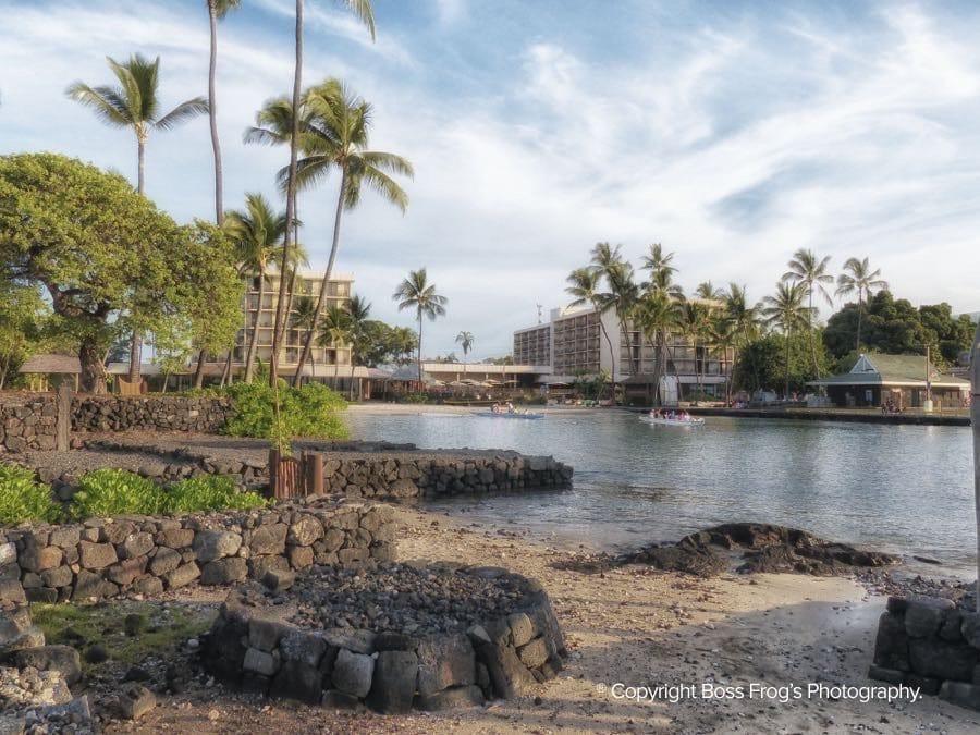 King Kamehameha Kamakahonu Beach | Big Island