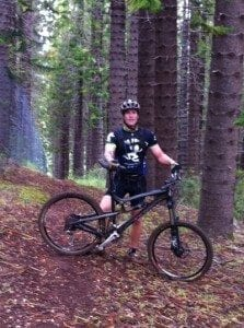 Chris Kasper Maui Mountain Bike in Pine Forest