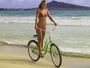 Beach Cruiser $20/day - $75/week