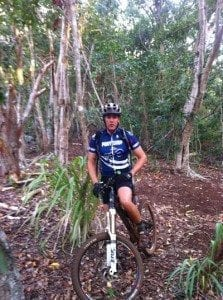 Mosk Maui Mountain Bike in Pine Forest