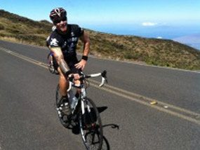 Ride to the Summit Of Haleakala