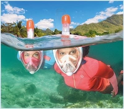 Full Face Mask Snorkel Rental