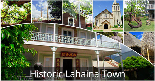 Historic Lahaina Town By Electric Bike