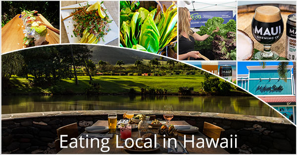 Eating Local In Hawaii