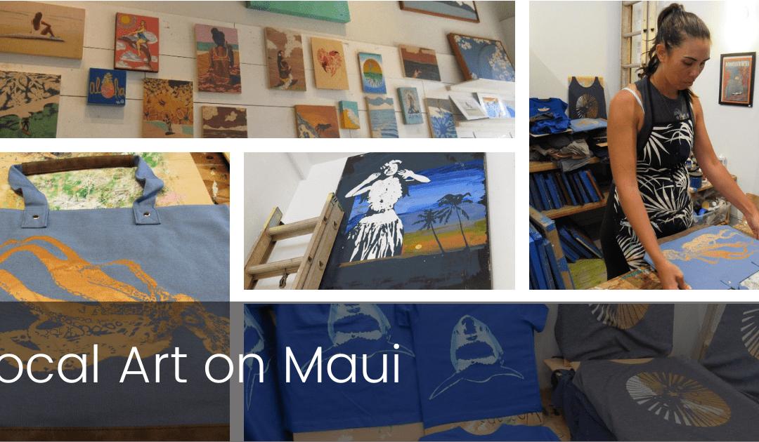 Local Art on Maui